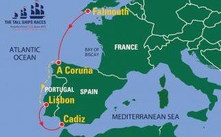 La Tall Ships Races Magellan-Elcano 500 se demora